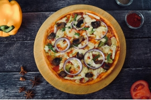 Пицца «Ортолана» (вегетарианская)