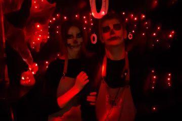 Halloween в «Альберто бар» в Алматы
